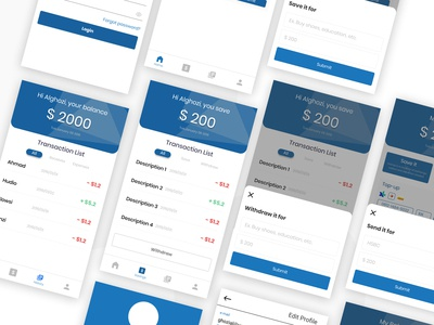 Banking Concept for Mobile Apps