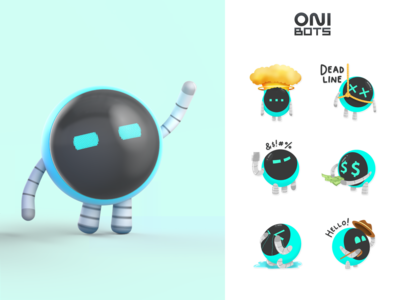 OniBots | Corporate mascots ONIX
