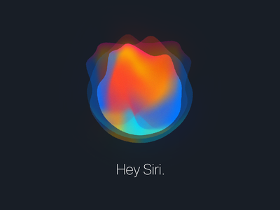 Hey Siri photoshop illustrator fireplace illustration ios apple voice control voice assistant concept siri
