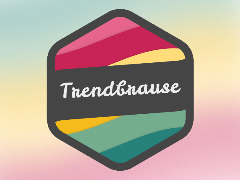 Trendbrause Logo version 3 logo lemonade brause limonade trendbrause icon