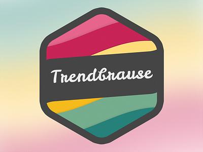 Trendbrause Logo version 3 logo lemonade brause limonade trendbrause icon