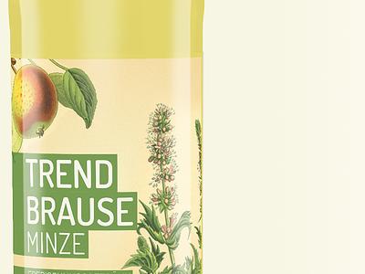 Trendbrause bottle limoment trendbrause bottle lemonade