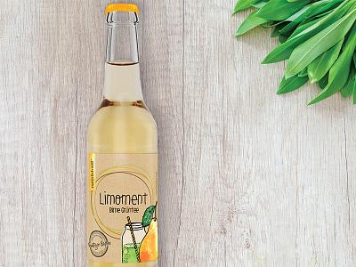 Limoment Birne Grüntee startup bielefeld nosugar bottle lemonade