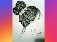 Hairs Sketch