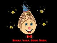 Cartoon Character Shaka laka Boon Boom