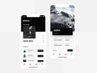 Tour App Design