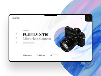 Fujifilm Web Concept