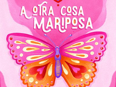 A otra cosa mariposa brush pink mariposa butterfly illustration design photoshop