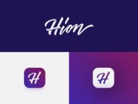 Hion wordmark