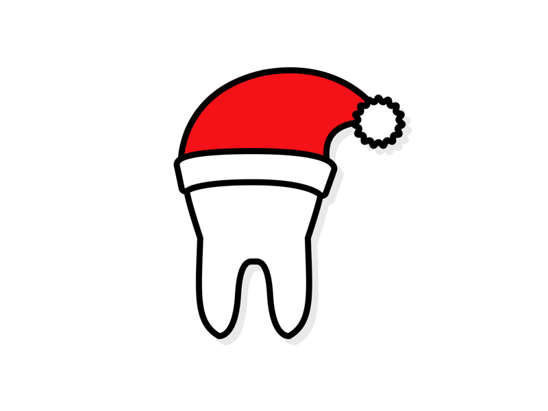 Christmas Tooth by Julius Gehrig - Dribbble