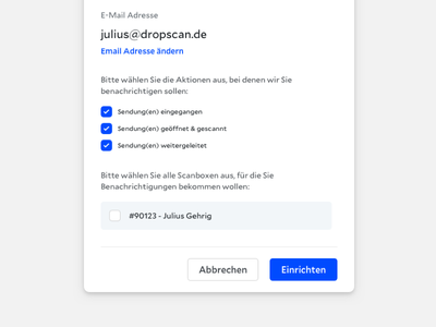Dropscan - Modals typography web design dropscan popup modal
