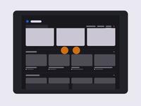 Refresh — Navigation Concept SVG Animation