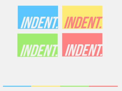 indent. logo