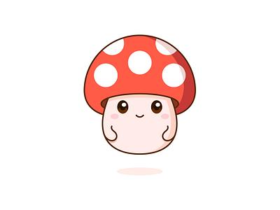 Mushroom ! graphic vector cute illustration design mushroom