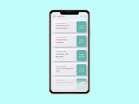 Daily UI Challenge 066 - Notes Widget