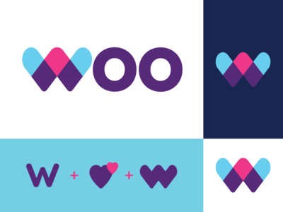 Woo - Dating App Branding