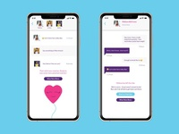 Daily UI Challenge 013 - Direct Messaging In an App