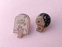 Witchy Enamel Pins