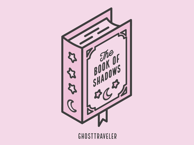 Book of Shadows   Isometric Design 3d isometric isometric design flat design design pastel graphic designer witchcraft magic spooky witch halloween adobe illustrator line art graphic design ghosttraveler vector illustration witchy