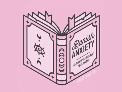 Banish Anxiety Spell Book