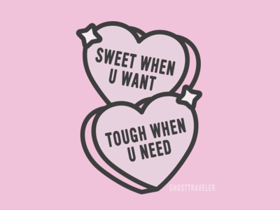 Sweet when u want tough when u need