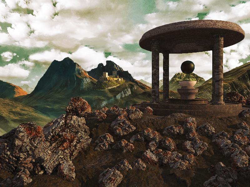 Ancient Ruins by Sylvain Verdasca on Dribbble