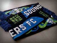 Seattle Sounders FC 2014 STH Scarf