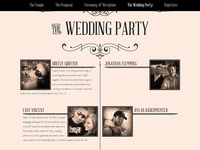 Wedding website for friends (cont)