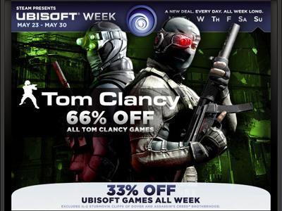 Tom Clancy Im videogames valve ads