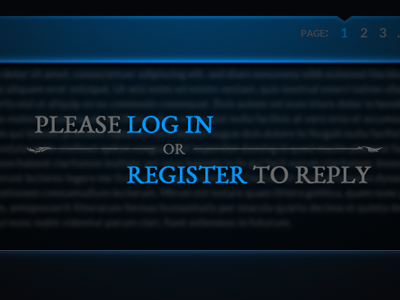 Log In To Reply ui forums login