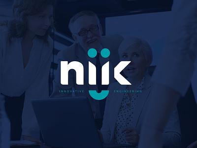 Niik Group logo illustration. logo design branding