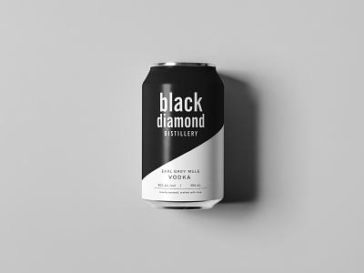 Black Diamond Distillery packaging mockup print and pattern packaging design branding packaging mockups mockup packaging