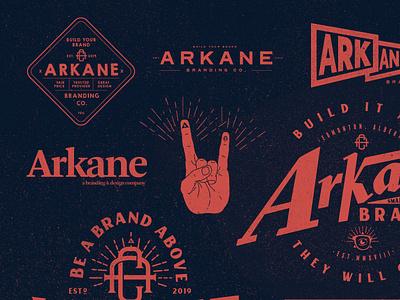 Arkane Wallpaper illustration design illustration. logo logo design branding