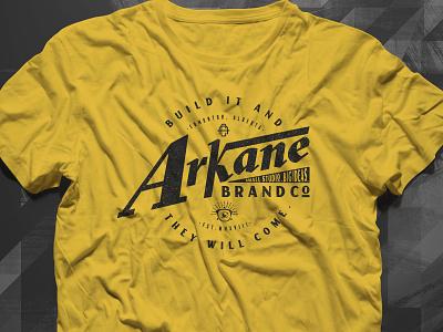 Arkane Creative T-Shirt Design packaging mockup print and pattern packaging design design illustration. logo logo design branding