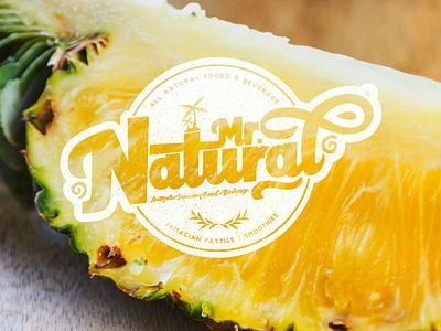 Mr. Natural design typography logo illustration. logo design branding