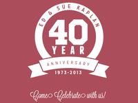 Kaplan's 40th Anniversary