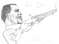 Cardale Jones goes duck hunting
