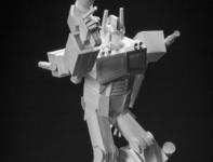 Optimus Prime Paper Sculpture optimus prime paper art illustration 3d art