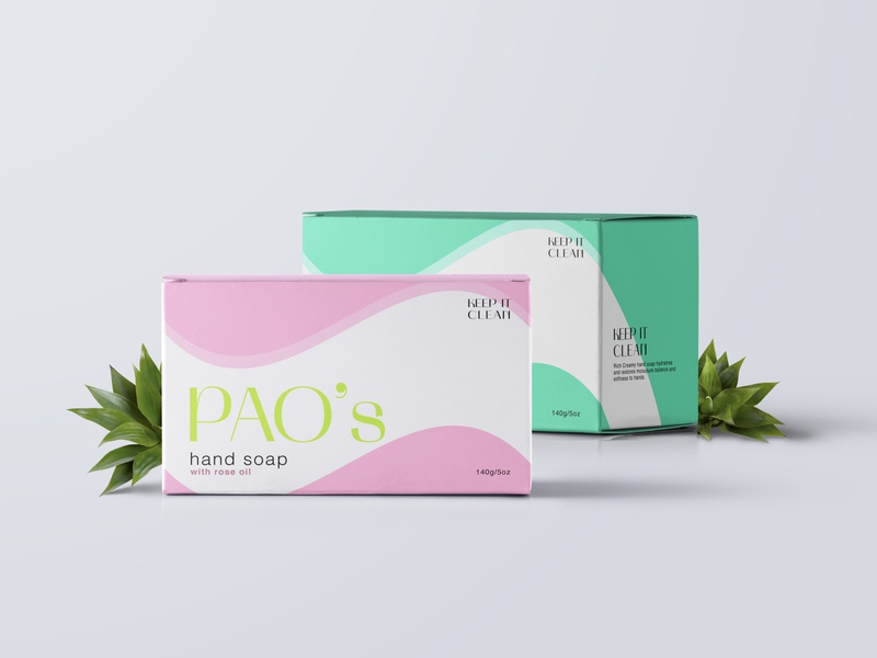 PAO's hand soap