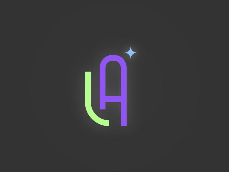 monogram typography vector weekly warm-up weekly challenge design