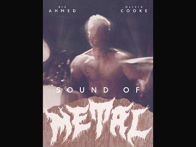 Sound of Metal film graphic design movie posters movie poster poster design poster