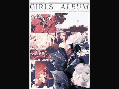 Girls – Album music graphic design poster design poster band poster album