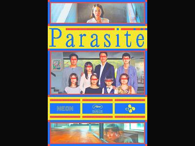 Parasite movie poster movie film poster poster design graphic design
