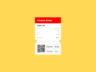 Daily UI #017 - Email Receipt