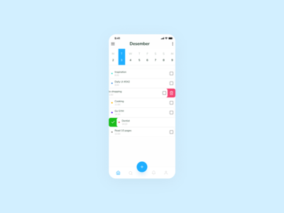 Daily UI #042 - ToDo List