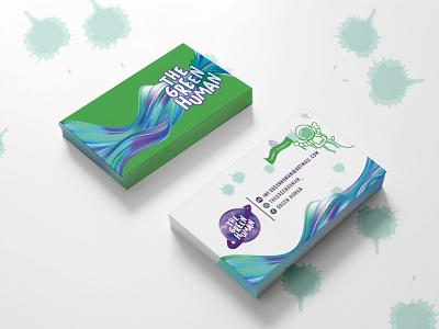 Green Human Branding logo design branding