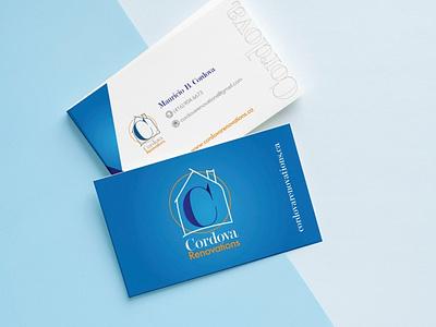 Cordova Renovations Brand logo website branding