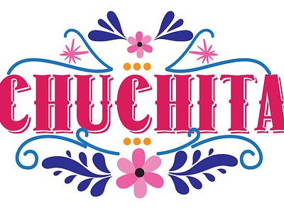 Chuchita vector typography branding logo