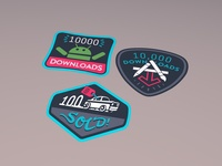 Milestone Stickers