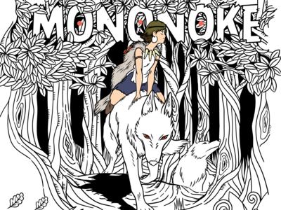 #WIP Princesse Mononoke